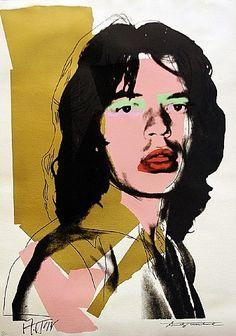 Andy Warhol, Mick Jagger FS II.143