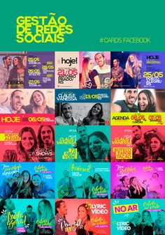Redes Sociais on Behance