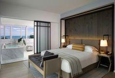 Habitación diseñada en estilo moderno y elegante                              …