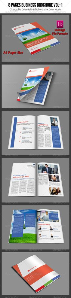 8 Pages Business Brochure Vol-1   #GraphicRiver