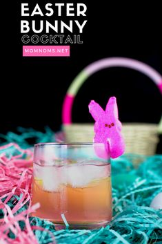 Easter Bunny Cocktail- San Francisco Chef Food Blogger Easy Recipes