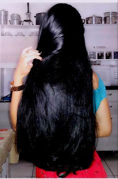 70 Ideas hair dark black style for 2019 70 Ideas hair dark black style for 2019 Long Dark Hair, Very Long Hair, Braids For Long Hair, Long Hair Girls, Long Curly, Beautiful Long Hair, Gorgeous Hair, Straight Hairstyles, Cool Hairstyles