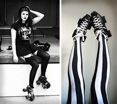 Through the Looking Glass: roller derby