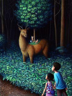 Prachtige illustraties door Shinya Okayama