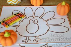 Turkey Party Coloring Pages