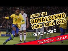 Learn The Ronaldinho Fake Back Pass | Soccer Attacking | Soccer | Skills and Drills | TeamSnap | Attacking | Soccer | Skills and Drills | Community Content & Resources | TeamSnap