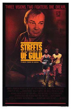 Streets of Gold (1986)Stars: Klaus Maria Brandauer, Adrian Pasdar, Wesley Snipes, Ángela Molina, Elya Baskin, Daniel O'Shea ~  Director: Joe Roth