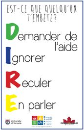 Affiche DIRE 3 Class Management, Classroom Management, School Tool, French Classroom, French Resources, Language And Literature, Primary Education, Anti Bullying, Teaching French