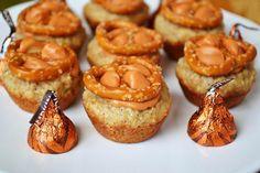 Pumpkin spice cookies I would leave off the pretzels