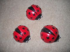 1 chocolate cupcake topper animal ladybug favors lollipops lollipop | sapphirechocolates - Edibles on ArtFire