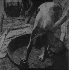 Edgar Degas (1834 - 1917) - monotypes