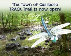 Check out the Town Of Carrboro TRACK Trail! http://www.kidsinparks.com/trails/nc/town-of-carrboro