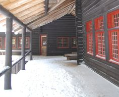 Camp Santanoni in Newcomb will host holiday weekends with Adirondack Architectural Heritage staff on hand at warm-up stations to give tour p...