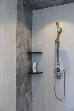 Marble Look Porcelain Porcelain Tiles, Door Handles, Marble, Shower, Bathroom, Home Decor, Door Knobs, Rain Shower Heads, Washroom
