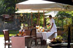Our restaurant, Lakaz Chamarel, Mauritius