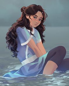 Katara Discover Thats Rough Buddy. Thats Rough Buddy. Our favorite waterbender from the Southern. Avatar Aang, Team Avatar, Avatar Cartoon, Avatar Funny, The Last Avatar, Avatar The Last Airbender Art, Avatar Characters, Female Characters, Fan Art Avatar