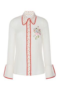 Romance Floral Shirt by MANOUSH for Preorder on Moda Operandi