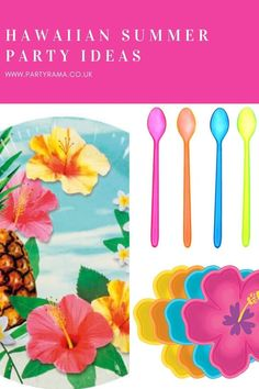 Celebrate a birthday, garden party or anniversary this year Hawaiian style with our collection of plates, tableware and decorations in a Hawaiian themed print that will add a pop of colour to your house or garden. Color Pop, Colour, Summer Parties, Best Part Of Me, Hawaiian, Party Supplies, Paradise, Anniversary, Party Ideas