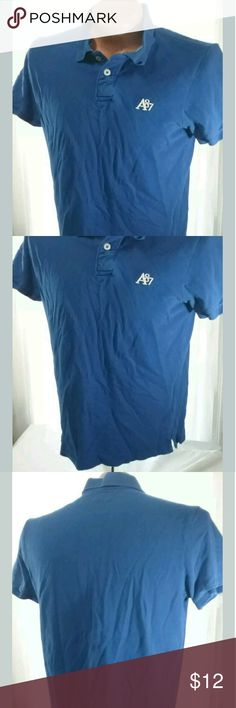 Aeropostale Mens Blue Polo Shirt XL For sale is a Men's Aeropostale Polo Shirt Size XL -Very Good Pre-owned Condition No holes or stains  Approximate Measurements Pit to Pit- 22 LFC- 28  Please, view all pictures, and ask questions if you have any. I GENERALLY SHIP OUT WITHIN ONE BUSINESS DAY OF RECEIVED PAYMENT. Aeropostale Shirts Polos