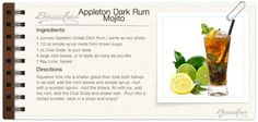Sandals Dark Rum Mojito