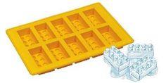 Lego Shape Ice Cube Tray, Yellow Silicone Brick Mould: Amazon.co.uk: Kitchen & Home £4.95