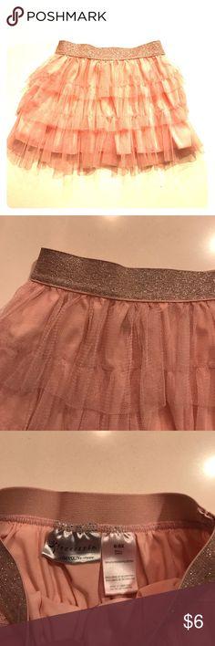 Danskin tiered pink tutu skirt Like new condition, smoke free home Bottoms Skirts