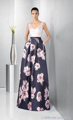 Resultado de imagen para vestidos de fiesta con flores