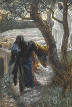 Tissot, Jesus Appears to Mary Magdalene
