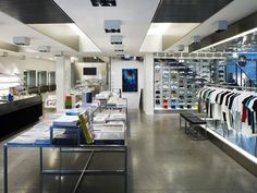 """Scott Shuman says, """"It wouldn't be a trip to Paris without a shopping stop at this famed concept store. In addition to clothing from designers like Saint Laurent, Reed Krakoff, and Alexander Wang, Colette also boasts an exhibition space, bookshop, and """"water bar"""" with more than 100 brands of bottled water."""""""