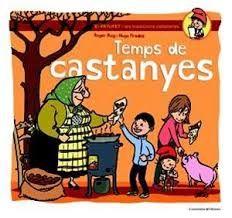Temps castanyes - El Patufet, protagonista d'un dels contes populars catalans més coneguts arreu, és l'encarregat d'explicar a una colla de nens i nenes les tradicions festives del nostre país, en una revisió tendra i divertida del costumari català. En aquest conte el Patufet ens convida a viure la castanyada d'una manera apassionant.