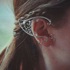 Elf ears Ear Cuffs by BeautyCreek on Etsy