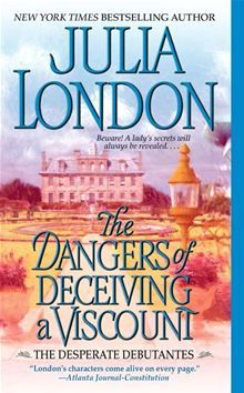 The Dangers of Deceiving a Viscount by Julia London. Got this book for free from a friend and really enjoyed it. Think I will try some more Julia London! Historical Romance Books, Historical Fiction, Romance Novels, Film Music Books, Audio Books, Julia London, Viscount, Pocket Books, Great Books