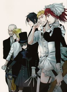 Kuroshitsuji: Book of Murder || The Phantomhive crew is back ~ Read my review for this here: http://www.animedecoy.com/2015/07/kuroshitsuji-book-of-murder-review.html Have you seen Book of Murder? - COSPLAY IS BAEEE!!! Tap the pin now to grab yourself some BAE Cosplay leggings and shirts! From super hero fitness leggings, super hero fitness shirts, and so much more that wil make you say YASSS!!!