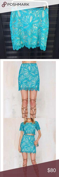 Nasty Gal x For Love & Lemons Beach Breeze Skirt New with tags. For Love and Lemons Skirts Midi