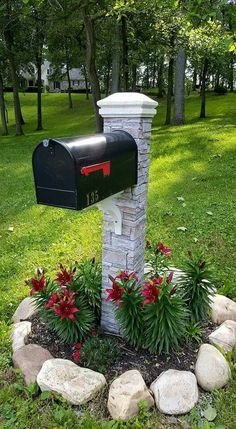 Helpful reference associated to Diy Landscaping Ideas Mailbox Garden, Diy Mailbox, Mailbox Landscaping, Landscaping Plants, Mailbox Ideas, Landscaping Ideas, Mailbox Makeover, Backyard Ideas, Landscape Design