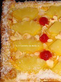 Um blogue com receitas simples e rápidas. Portuguese Desserts, Portuguese Recipes, Apple Cake Recipes, Pasta, Food Cakes, Vintage Recipes, Hawaiian Pizza, Coco, Deserts