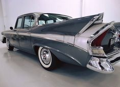 This 1958 Packard 58L was purchased new in 1958 by Elizabeth Montgomery of Bewitched fame. She kept the car until 1987.