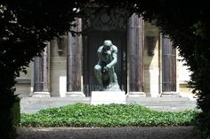 Chill out time, UP: have a ponderous stroll at Musée Rodin (VII arr. Auguste Rodin, Musée Rodin, Statue Of Liberty, Garden Sculpture, Chill, Sculptures, Louvre, Outdoor Decor, Crafts