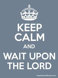 Wait on the Lord Part II – Just Indigo!