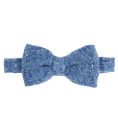 Speckle Bowtie by Van Gils $155   Dutch power brand Van Gils has taken the classically formal bowtie and transformed it into a daytime staple. Made unfussy by the fabrication-a cashmere and wool blend, these bowties elevate a simple shirt and trouser combination to professorially chic.   GOTSTYLE.ca