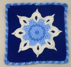 Ravelry: Project Gallery for Another Sunflower Block pattern by Julie Yeager