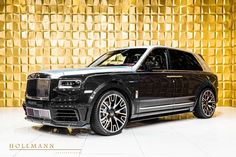 Rolls-Royce Cullinan by Mansory - Hollmann International - Germany - For sale on LuxuryPulse. New Rolls Royce, Rolls Royce Cullinan, Wide Body Kits, Privacy Glass, Head Up Display, High Beam, Luxury Suv, Lounge Seating, Chrome Plating