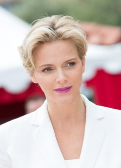 Princess Charlene of Monaco attends the Finale of the Monte Carlo Rolex Masters Series on 20.04.14 in Monte-Carlo, Monaco.