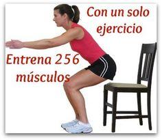 Rutina de sentadillas para vientre plano, glúteos y piernas tonificadas y sin celulitis