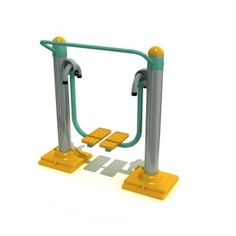 This product has ergonomic design for single user to let user sport comfortably. It consists of moving stamping mechanism for each foot plate and handle. It is made from metallic tube frame profile with powder coatings enhancing its durable capabilities. The dimensions of this product are width 115 cm, length 50 cm and height of 140 cm. The aim of this product is to develop leg and back muscles.