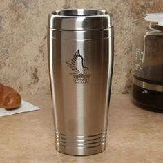 Hartford Hawks 16oz. Silver Stainless Steel Travel Tumbler - $14.99