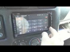 """Pumpkin 6.95"""" Android 4.4.4 In Dash GPS Navigation Stereo"""