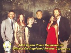 Jensen and Jared at 2016 Austin Police Department's Officers Distinguished Awards Ceremony