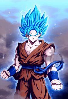 Goku super saiyan god super saiyan