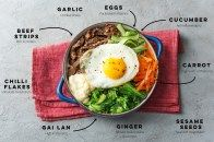 Bibimbap is our new favourite healthy dinner